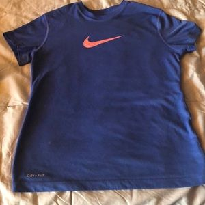Cute girls Nike dry fit shirt